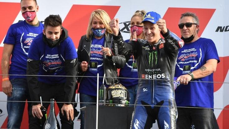 MotoGp, Bagnaia cade a Misano e Quartararo è campione del mondo. Vince Marc Marquez