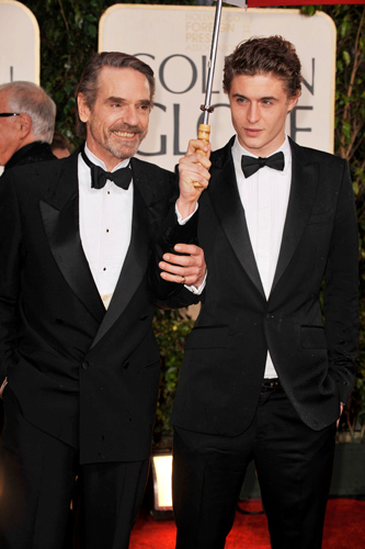 Max Irons - D - la Repubblica Max Irons And Jeremy Irons