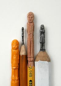 L'artista che scolpisce i pastelli