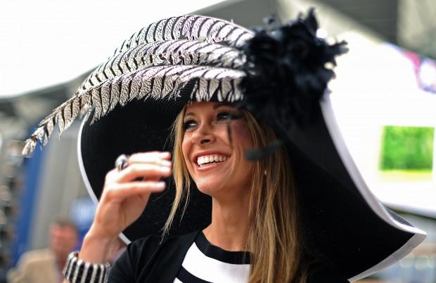 modelli di grande varietà sito affidabile outlet Cappelli pazzi ad Ascot - D - la Repubblica