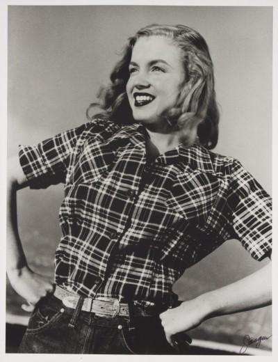 All'asta le prime foto di Marilyn modella