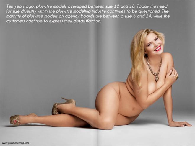 La campagna anti anoressia di Plus Model Magazine