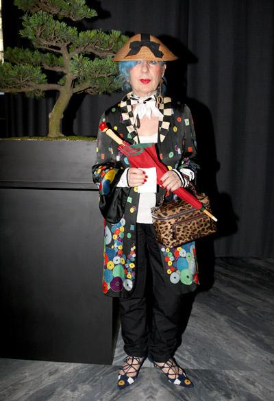 Anna Piaggi: addio alla Regina della moda