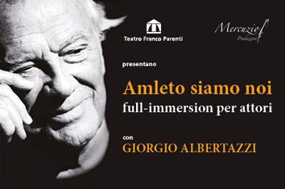 teatro,corsi,milano,amleto,giorgio albertazzi,shakespeare