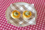 Vol-au-vent con spinaci freschi allo zafferano