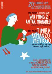 Wu Ming 2 e Antar Mohamed a Milano