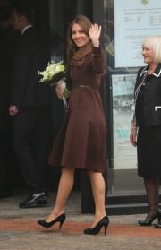 Kate, look vincente anche da futura mamma