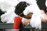Rihanna ubriaca al Carnevale
