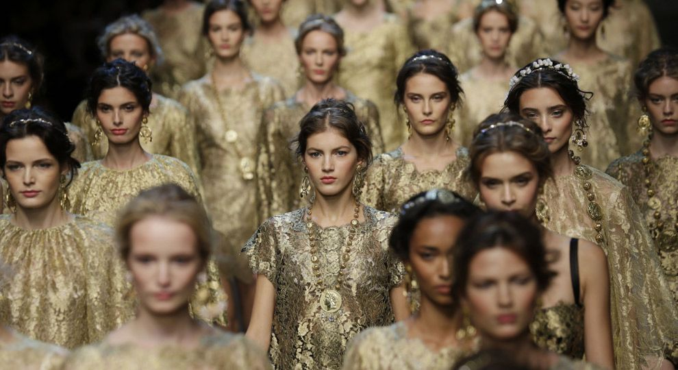 Dolce&Gabbana: talent and boldness