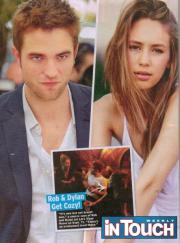 Pattinson flirta con la figlia di Sean Penn