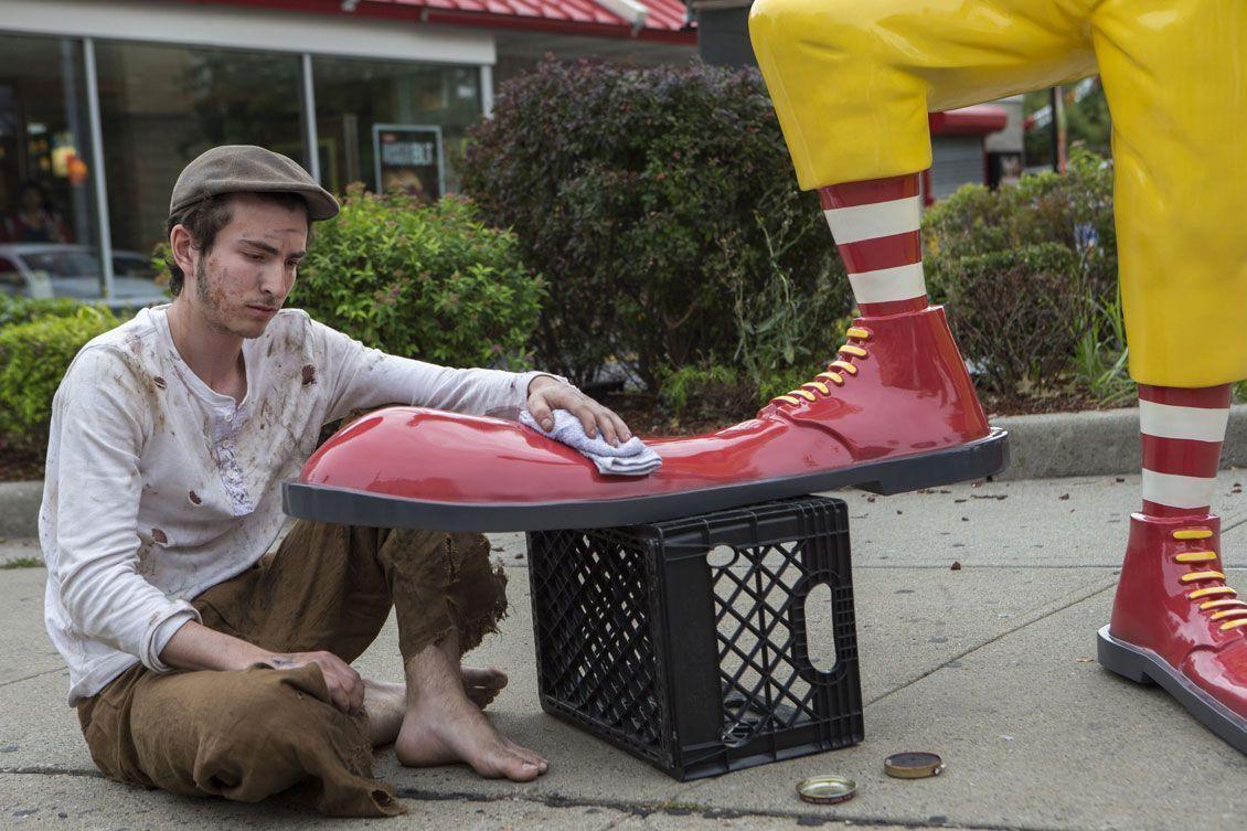 Banksy colpisce Ronald MacDonald