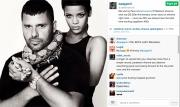 Rihanna la regina dei social