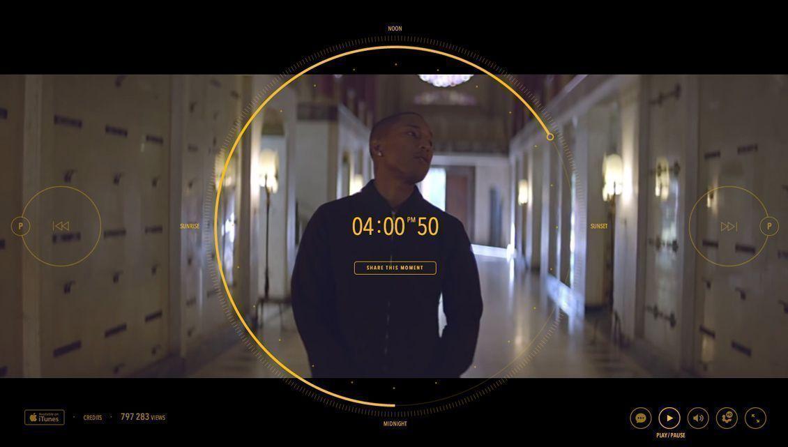 Pharrell Williams: il primo video lungo 24 ore