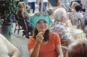 Jacqueline Kennedy a Capri