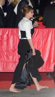Julia scalza sul red carpet