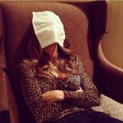 """Sofia """"bella addormentata"""": i colleghi la prendono in giro sui social"""