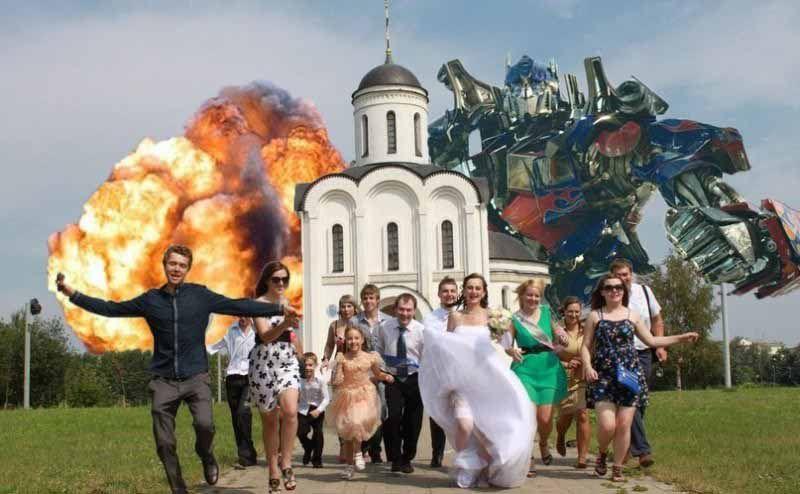 Matrimonio In Russia : Awkward russian wedding photos fun