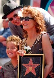 Susan Sarandon tra famiglia e politica