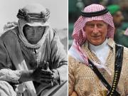 Carlo sulle orme di Lawrence d'Arabia