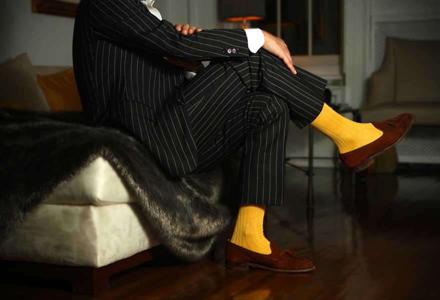 prezzo basso stile squisito abile design 8 Regole per abbinare le calze da uomo - Moda - D.it Repubblica