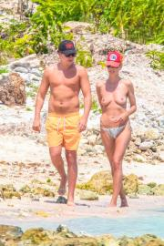 Heidi Klum, cade l'ultimo tabu: vacanze in topless