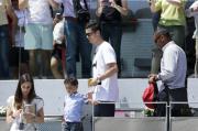 """Ronaldo e """"Ronaldino"""": pomeriggio tra uomini"""