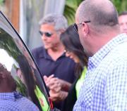 Clooney: festa di fidanzamento con Bono e Cindy Crawford