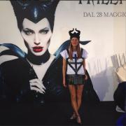 Maleficent: tra le fan è selfie mania. Con le corna