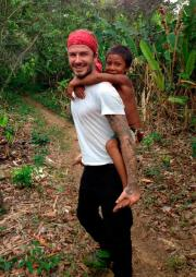 David Beckham in Amazzonia