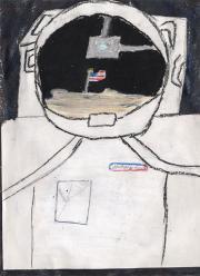 """Il """"futuro"""" disegnato dai bambini per la NASA"""