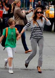 Sarah Jessica Parker: mamma, mi si è ristretto il pantalone!
