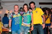 Il Brasile schiera Ambrosio, topmodel super tifosa