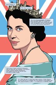 La Regina Elisabetta invade i fumetti