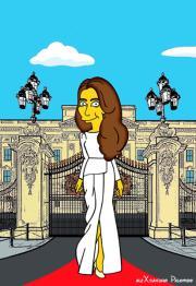 Kate Middleton: una icona pop per i Simpson
