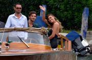 Belen conquista Venezia con un look da Dolce Vita
