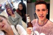 La punizione di Charlie: le tre fidanzate lo smascherano e i social plaudono