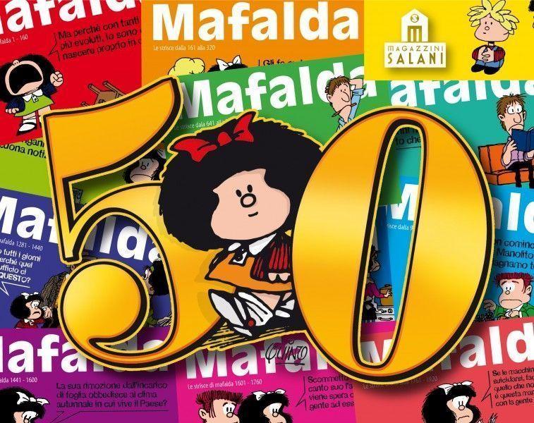 Mafalda Compie 50 Anni Personaggi D It Repubblica