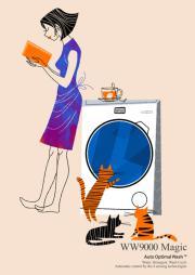 """La lavatrice a """"fumetti"""""""