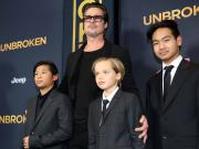 Brad Pitt, un papà sul red carpet