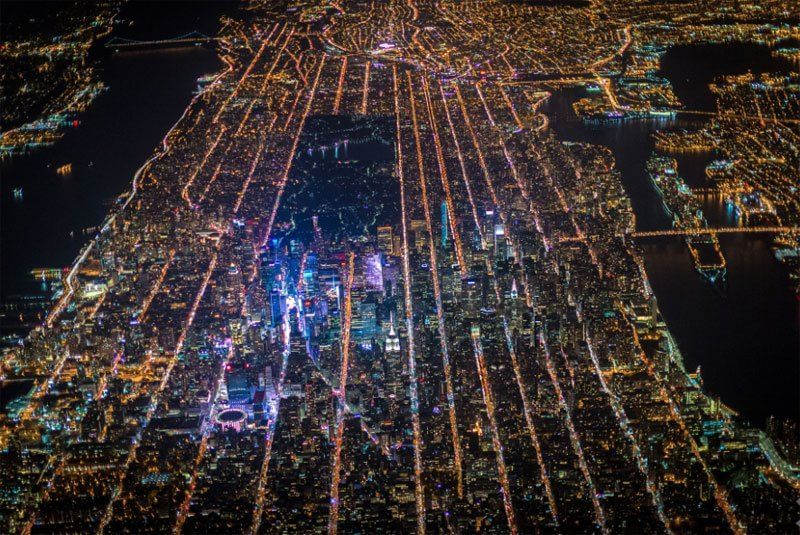 New york dall 39 alto la citt mai vista attualit for New york dall alto