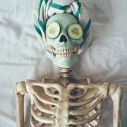 Skelfie, il selfie post mortem
