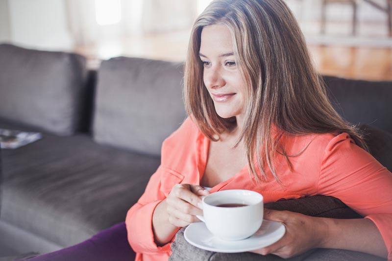 studio di tè verde e perdita di pesona