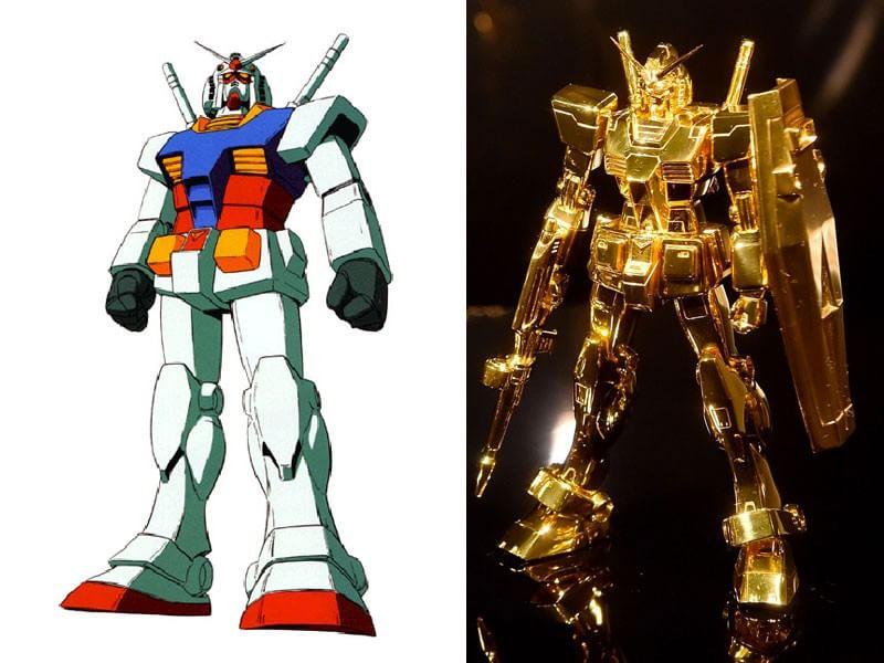 Gundam ritorna il cartone animato anni moda d