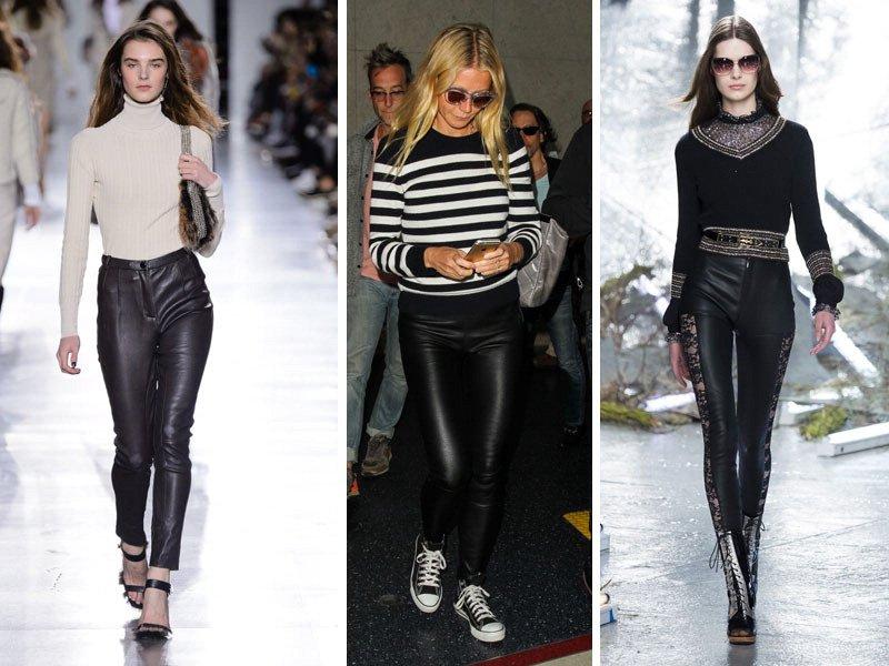 disponibilità nel Regno Unito 52132 9c424 Leggings di pelle: come indossarli - Moda - D.it Repubblica