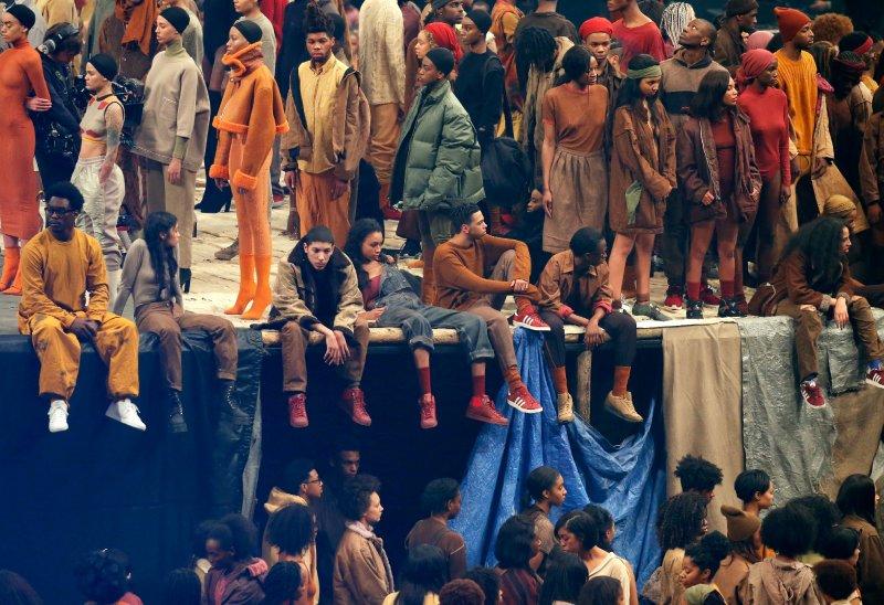 Kanye West La Moda Sbarca Al Madison Square Garden Moda Repubblica