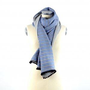 La sciarpa a righe