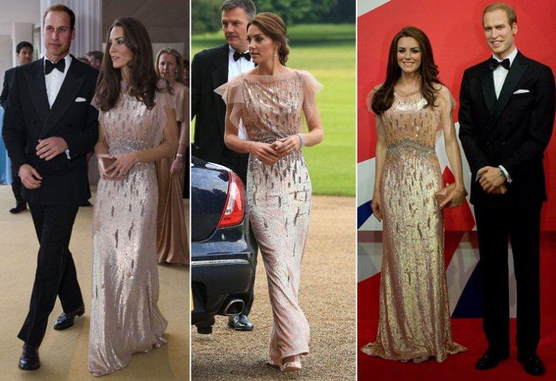 Kate middleton ricicla il vestito