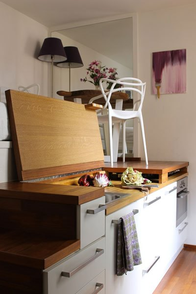 Ecco come costruire una cucina nel corridoio di casa - D - la Repubblica