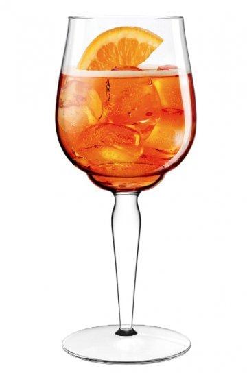 Lo spritz dalla bottiglia al bicchiere cucina for Bicchiere da spritz