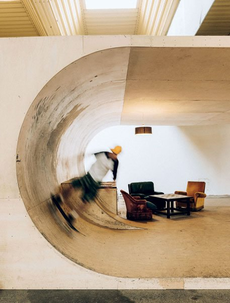 l'Hanger Darwin Skate Park di Bordeaux.